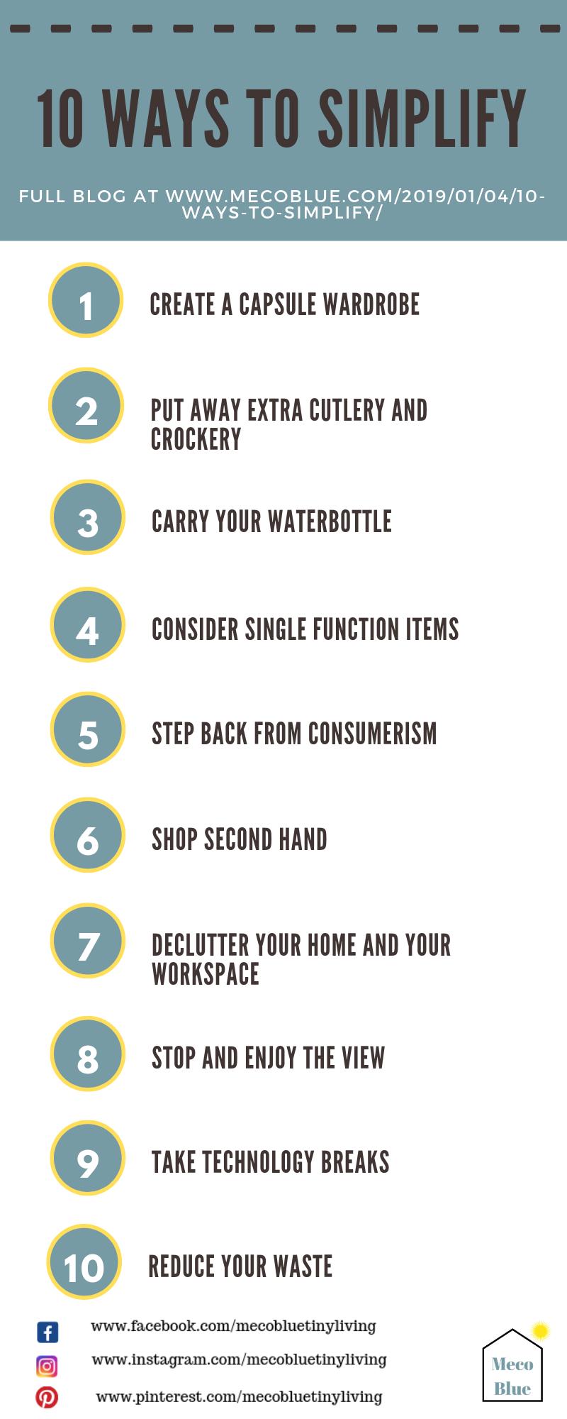 Ways to Simplify Life
