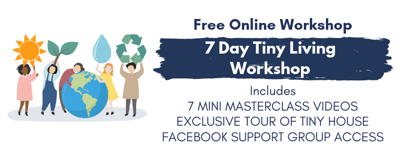 7 Day Tiny Living Workshop - Meco Blue