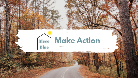 Productivity Make Action - Meco Blue